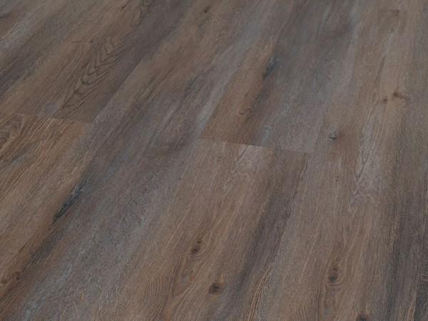 TRECOR® Klick Vinylboden RIGID 5.0+, Exclusiv Eiche Braun Landhausdiele XL-Diele