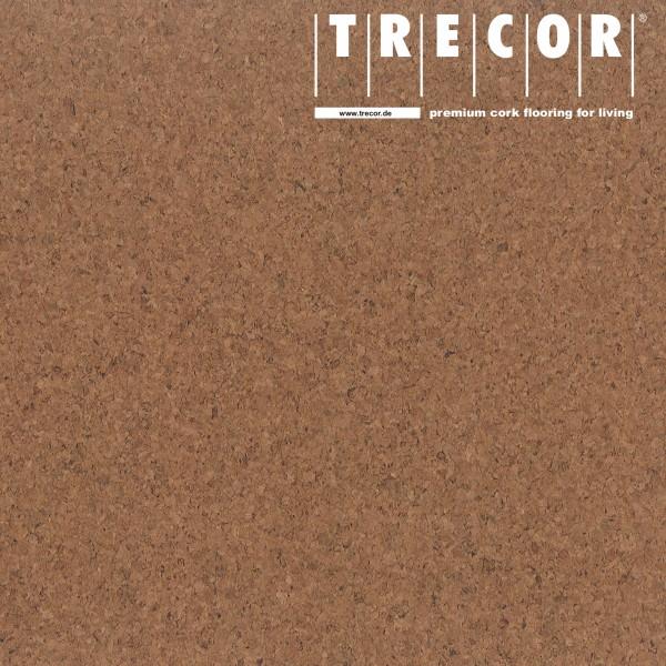 "Korkboden TRECOR® CLASSIC ""Klebekork ""PORTO"" Stärke: 4 mm, Oberfläche: ROH - Farbe: Braunrot"
