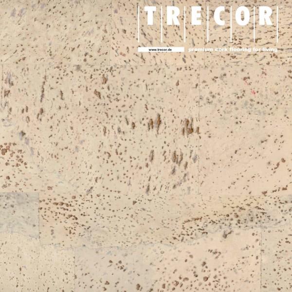 "TRECOR® Korkboden mit Klicksystem ""MERIDA"" - 10 mm Stark - Farbe: Creme"