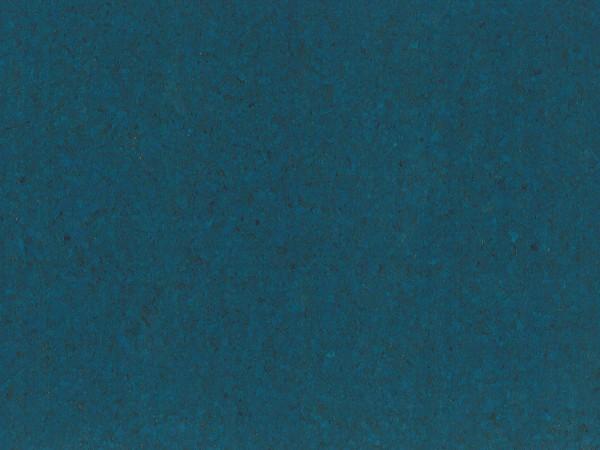 Korkboden TRECOR® CLASSIC Klebekork PORTO Stärke: 4 mm, Oberfläche: ROH - Farbe: Signalblau
