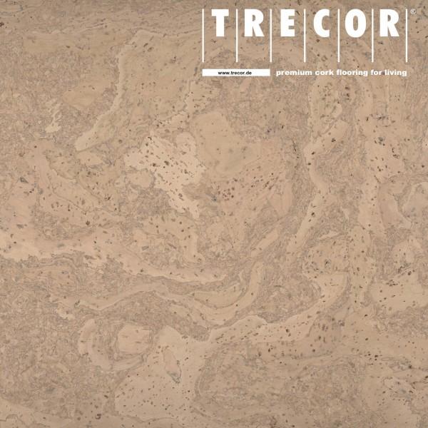 "TRECOR® Korkboden mit Klicksystem ""STILO"" Korkfertigparkett - 10 mm Stark - Farbe: Creme"
