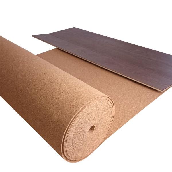 TRECOR® Rollenkork Kork Trittschalldämung Korkunterlage | Stärke: 3 mm