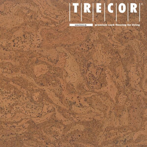 "TRECOR® Korkboden mit Klicksystem ""STILO"" Korkfertigparkett - 10 mm Stark - Farbe: Orange"