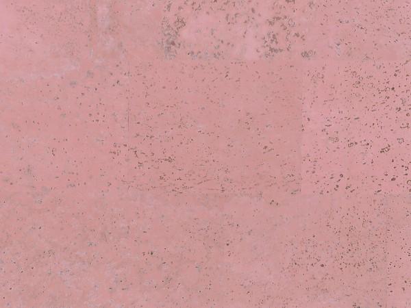 Korkboden TRECOR® CLASSIC Klebekork MERIDA Stärke: 4 mm, Oberfläche: ROH - Farbe: Hellrosa