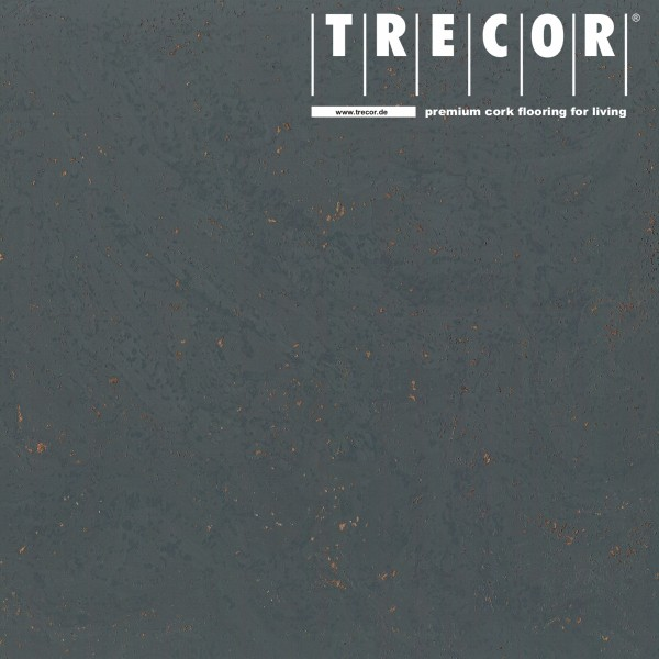 "TRECOR® Korkboden mit Klicksystem ""STILO"" Korkfertigparkett - 10 mm Stark - Farbe: Schiefergrau"