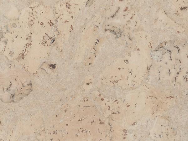 Korkboden TRECOR® CLASSIC Klebekork FRAMENTO Stärke: 4 mm, Oberfläche: ROH - Farbe: Perlweiß