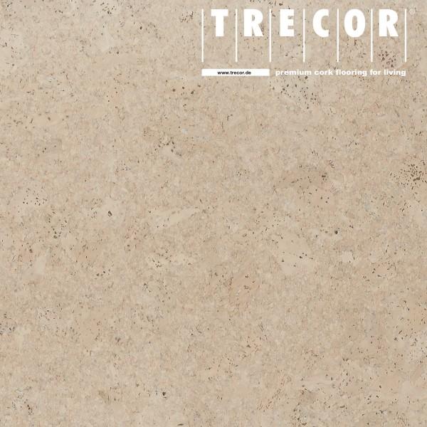 """TRECOR® Korkboden mit Klicksystem """"Lisboa"""" 10 mm Stark - Farbe: Perlweiß"""