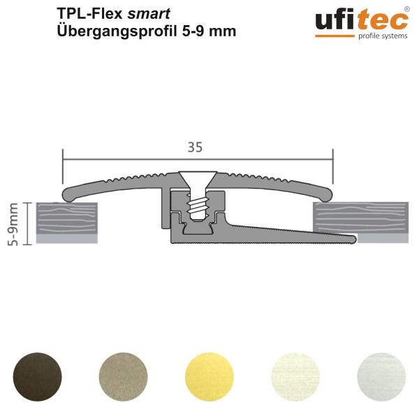 ufitec® Übergangsprofil / Höhenanpassung - TPL Flex - für Belagshöhen von 5-9 mm