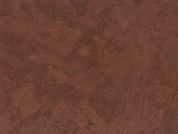 TRECOR® Korkboden mit Klicksystem STILO Korkfertigparkett - 10 mm Stark - Farbe: Mahagonibraun