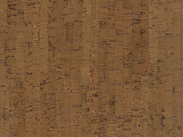 Korkboden TRECOR® CLASSIC Klebekork MAZARA Stärke: 4 mm, Oberfläche: ROH - Farbe: Braun
