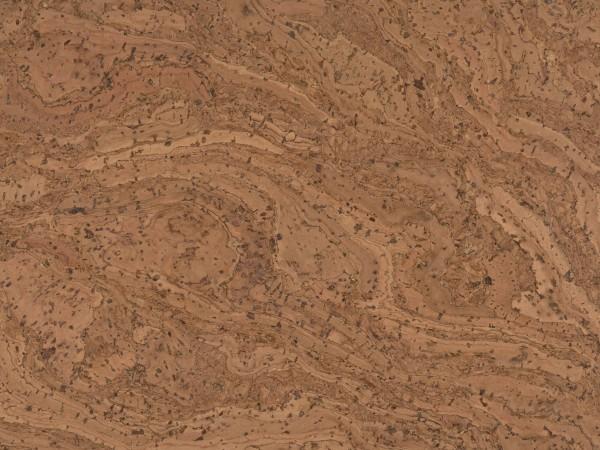 TRECOR® Korkboden mit Klicksystem STILO Korkfertigparkett - 10 mm Stark - Farbe: Braunrot