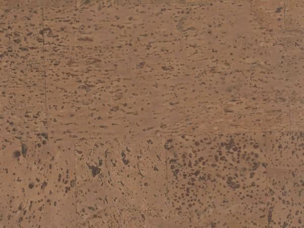 Korkboden TRECOR® CLASSIC Klebekork MERIDA Stärke: 4 mm, Oberfläche: ROH - Farbe: Braunrot