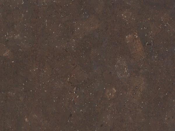 Korkboden TRECOR® CLASSIC Klebekork FORTI Stärke: 4 mm, Oberfläche: ROH - Farbe: Dunkelbraun