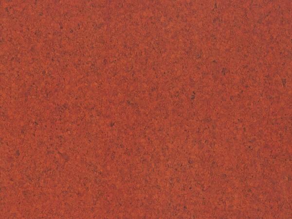 TRECOR® Korkboden mit Klicksystem PORTO Korkfertigparkett - 10,5 mm Stark - Farbe: Korallenrot
