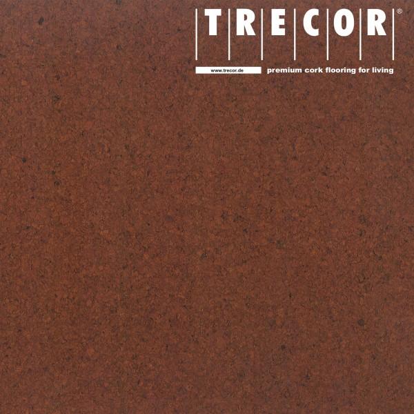 "Korkboden TRECOR® CLASSIC ""Klebekork ""PORTO"" Stärke: 4 mm, Oberfläche: ROH - Farbe: Mahagonibraun"