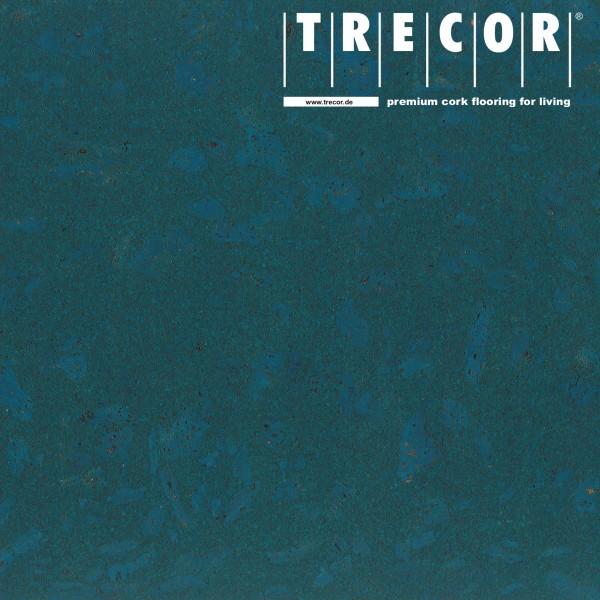 TRECOR® Korkboden mit Klicksystem MAFRA Korkfertigparkett - 10 mm Stark - Farbe: Signalblau