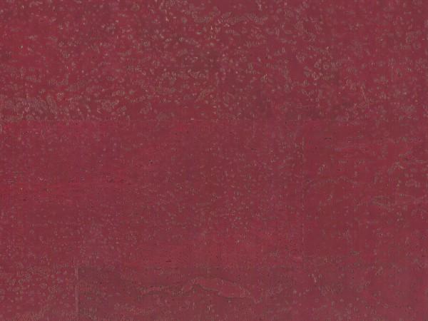 Korkboden TRECOR® CLASSIC Klebekork MERIDA Stärke: 4 mm, Oberfläche: ROH - Farbe: Purpurrot