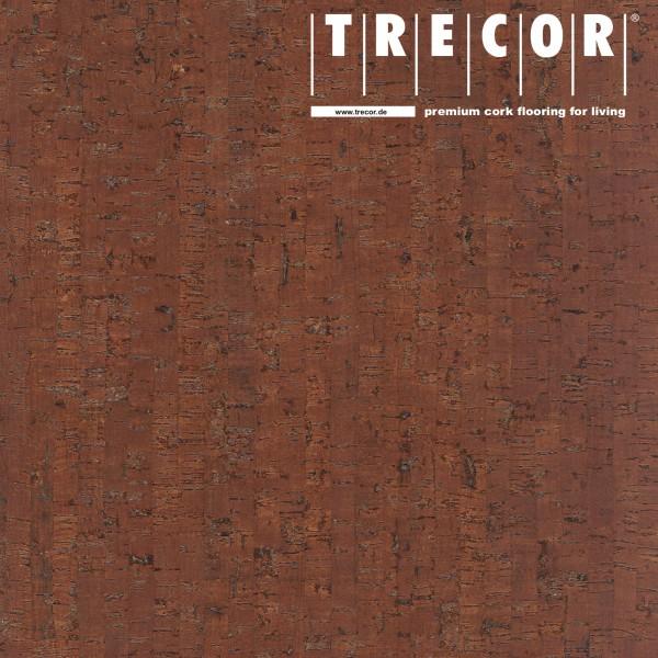 "Korkboden TRECOR® CLASSIC ""Klebekork ""MAZARA"" Stärke: 4 mm, Oberfläche: ROH - Farbe: Mahagonibraun"