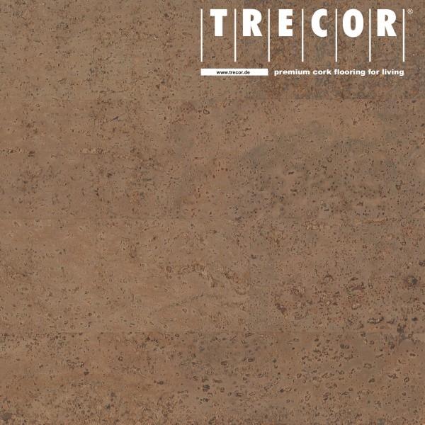 "Korkboden TRECOR® CLASSIC ""Klebekork ""MERIDA"" Stärke: 4 mm, Oberfläche: ROH - Farbe: Braun"