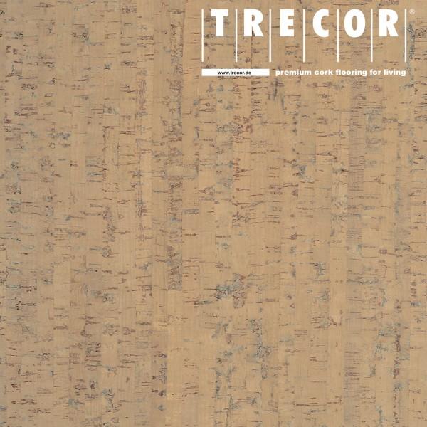 "TRECOR® Korkboden mit Klicksystem ""MAZARA"" Korkfertigparkett - 10,5 mm Stark - Farbe: Elfenbein"