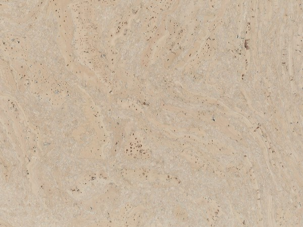Korkboden TRECOR® CLASSIC Klebekork STILO Stärke: 4 mm, Oberfläche: ROH - Farbe: Perlweiß
