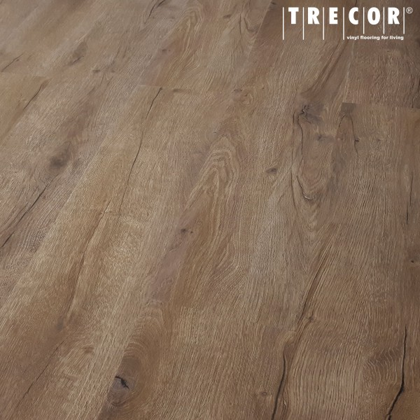 TRECOR® Klick Vinylboden RIGID 5.0 Landhausdiele Prestige Eiche Dunkel - 5 mm Stark