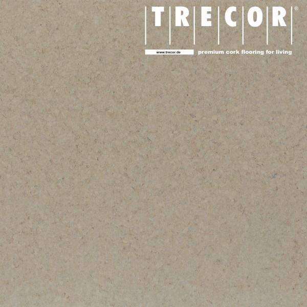 "TRECOR® Korkboden mit Klicksystem ""PORTO"" Korkfertigparkett - 10,5 mm Stark - Farbe: Kieselgrau"