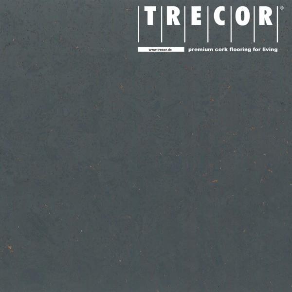 "TRECOR® Korkboden mit Klicksystem ""EVORA"" Korkfertigparkett - 10,5 mm Stark - Farbe: Schiefergrau"