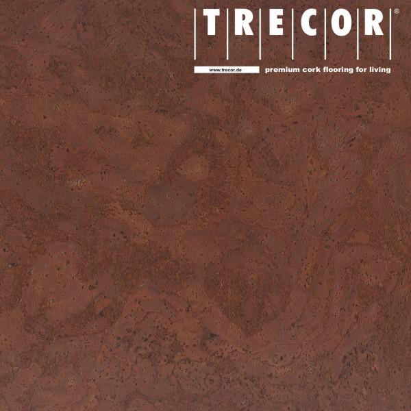 "Korkboden TRECOR® CLASSIC ""Klebekork ""STILO"" Stärke: 4 mm, Oberfläche: ROH - Farbe: Mahagonibraun"