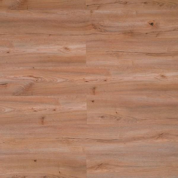 TRECOR® Klick Vinylboden HDF 9.0 - Eiche Estoril Basic LHD - 9 mm Stark mit 0,3 mm Nutzschicht