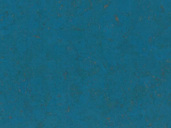 TRECOR® Korkboden mit Klicksystem EVORA Korkfertigparkett - 10,5 mm Stark - Farbe: Himmelblau