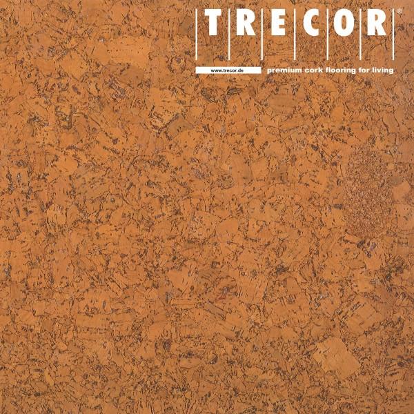 "Korkboden TRECOR® CLASSIC ""Klebekork ""FORTI"" Stärke: 4 mm, Oberfläche: ROH - Farbe: Orange"
