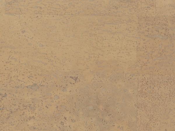 Korkboden TRECOR® CLASSIC Klebekork MERIDA Stärke: 4 mm, Oberfläche: ROH - Farbe: Elfenbein