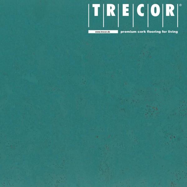 "TRECOR® Korkboden mit Klicksystem ""Lisboa"" 10 mm Stark - Farbe: Minttürkis"
