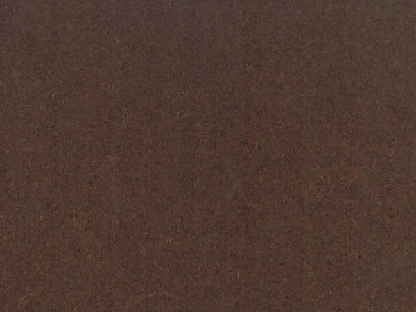 Korkboden TRECOR® CLASSIC Klebekork PORTO Stärke: 4 mm, Oberfläche: ROH - Farbe: Dunkelbraun