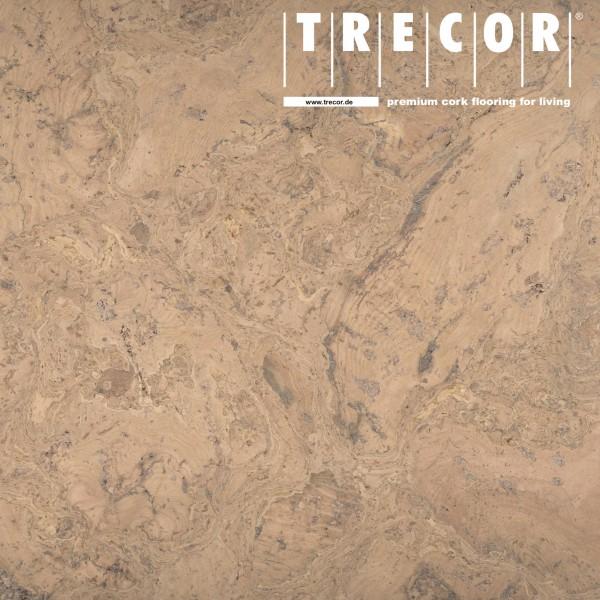 "TRECOR® Korkboden mit Klicksystem ""VARESE"" Korkfertigparkett - 10,5 mm Stark - Farbe: Creme"