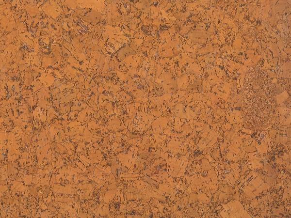 Korkboden TRECOR® CLASSIC Klebekork FORTI Stärke: 4 mm, Oberfläche: ROH - Farbe: Orange