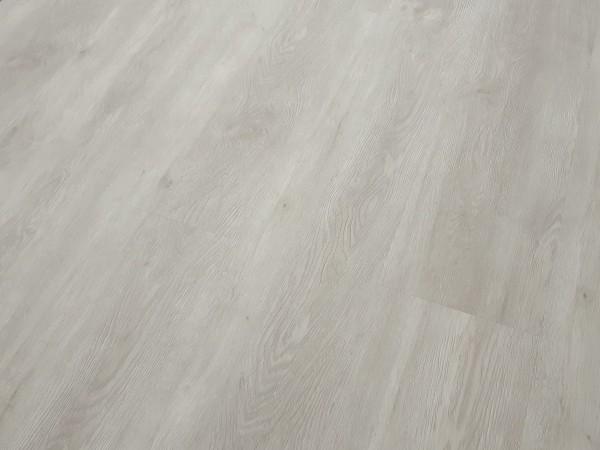 Vinylboden massiv zum Kleben - Holzdekor - Trend Oak White Landhausdiele - 2 mm Stark