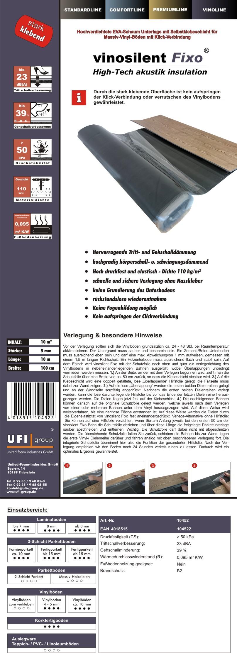 vinosilentfixo-5mm-Einleger