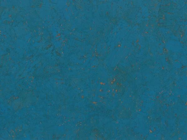 Korkboden TRECOR® CLASSIC Klebekork FORTI Stärke: 4 mm, Oberfläche: ROH - Farbe: Himmelblau