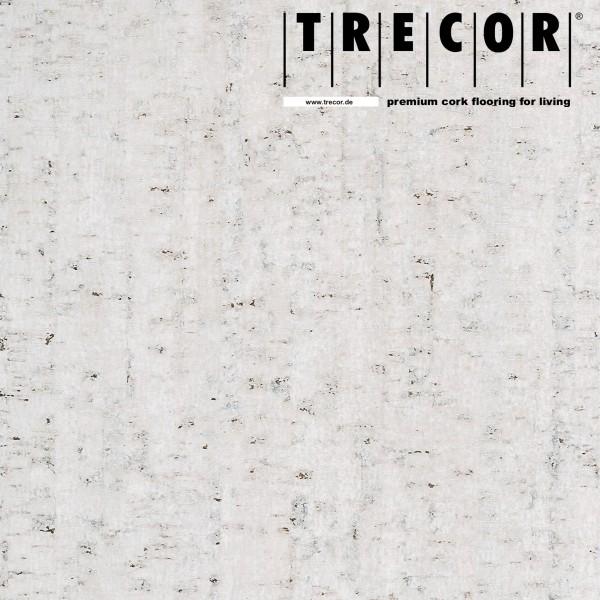 "TRECOR® Korkboden mit Klicksystem ""MAZARA"" Korkfertigparkett - 10,5 mm Stark - Farbe: Weiß"