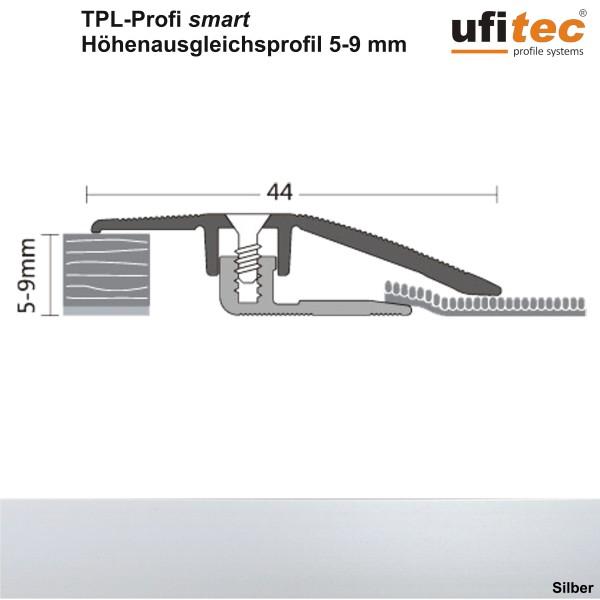 ufitec® TPL Profil smart Niveauausgleich / Höhenausgleichsprofil - für Belagshöhen von 5-9 mm