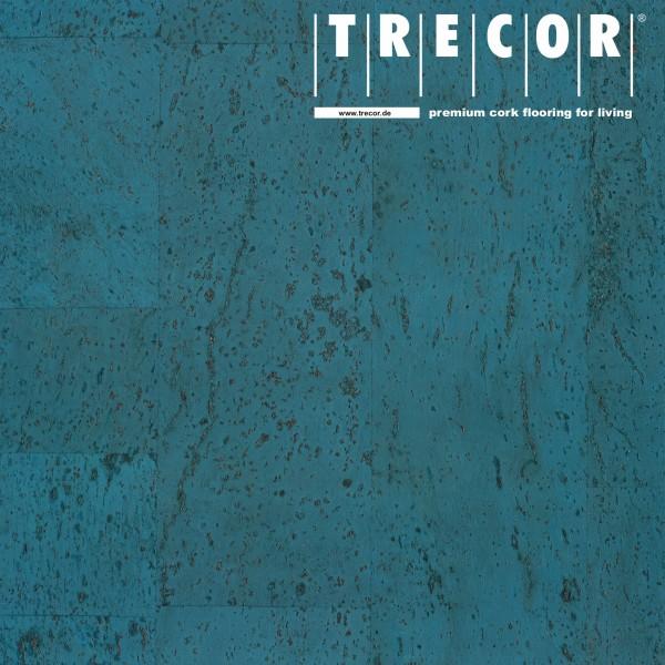 "Korkboden TRECOR® CLASSIC ""Klebekork ""MERIDA"" Stärke: 4 mm, Oberfläche: ROH - Farbe: Himmelblau"