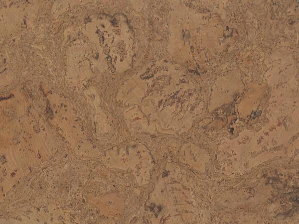 Korkboden TRECOR® CLASSIC Klebekork FRAMENTO Stärke: 4 mm, Oberfläche: ROH - Farbe: Braun
