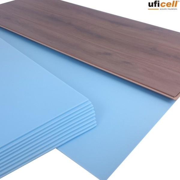 uficell® Soft-Step | XPS Trittschalldämmung - 5 mm Stark - bis 20 dB(A) Trittschallverbesserung
