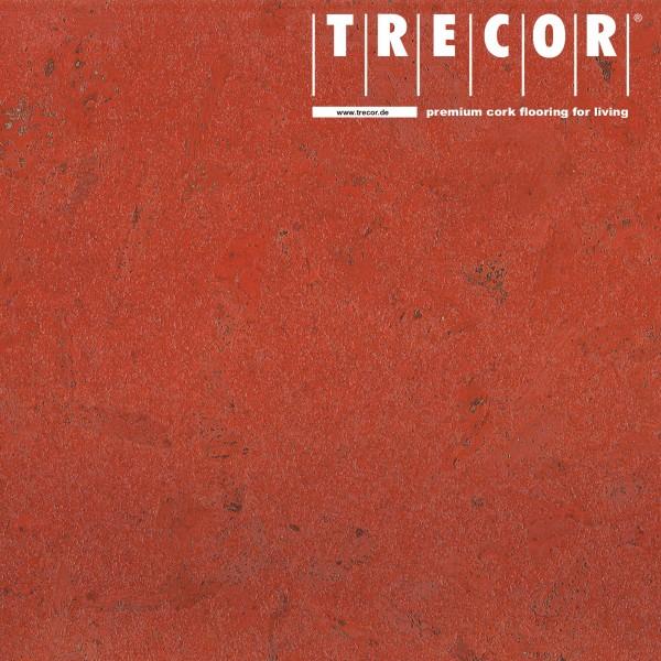TRECOR® Korkboden mit Klicksystem MAFRA Korkfertigparkett - 10 mm Stark - Farbe: Korallenrot