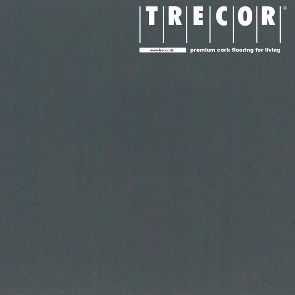 "TRECOR® Korkboden mit Klicksystem ""PORTO"" Korkfertigparkett - 10,5 mm Stark - Farbe: Schiefergrau"