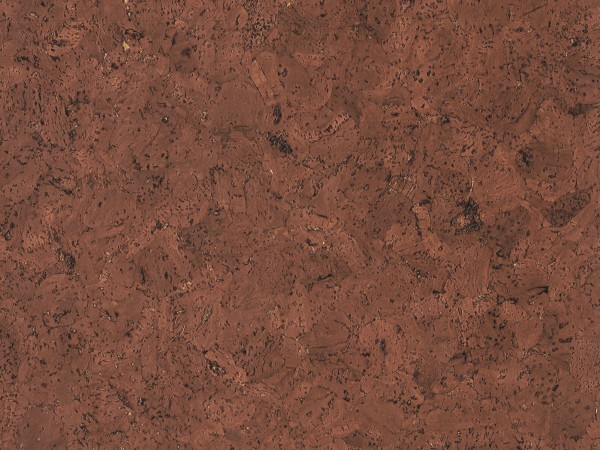 TRECOR® Korkboden mit Klicksystem EVORA Korkfertigparkett - 10,5 mm Stark - Farbe: Rotbraun