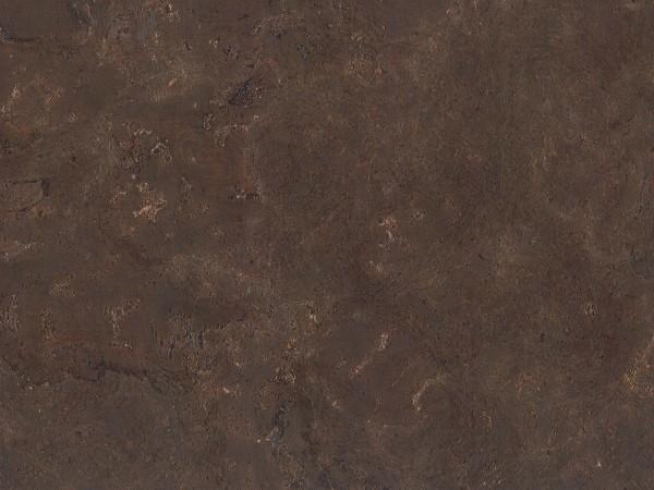 Korkboden TRECOR® CLASSIC Klebekork VARESE Stärke: 4 mm, Oberfläche: ROH - Farbe: Dunkelbraun