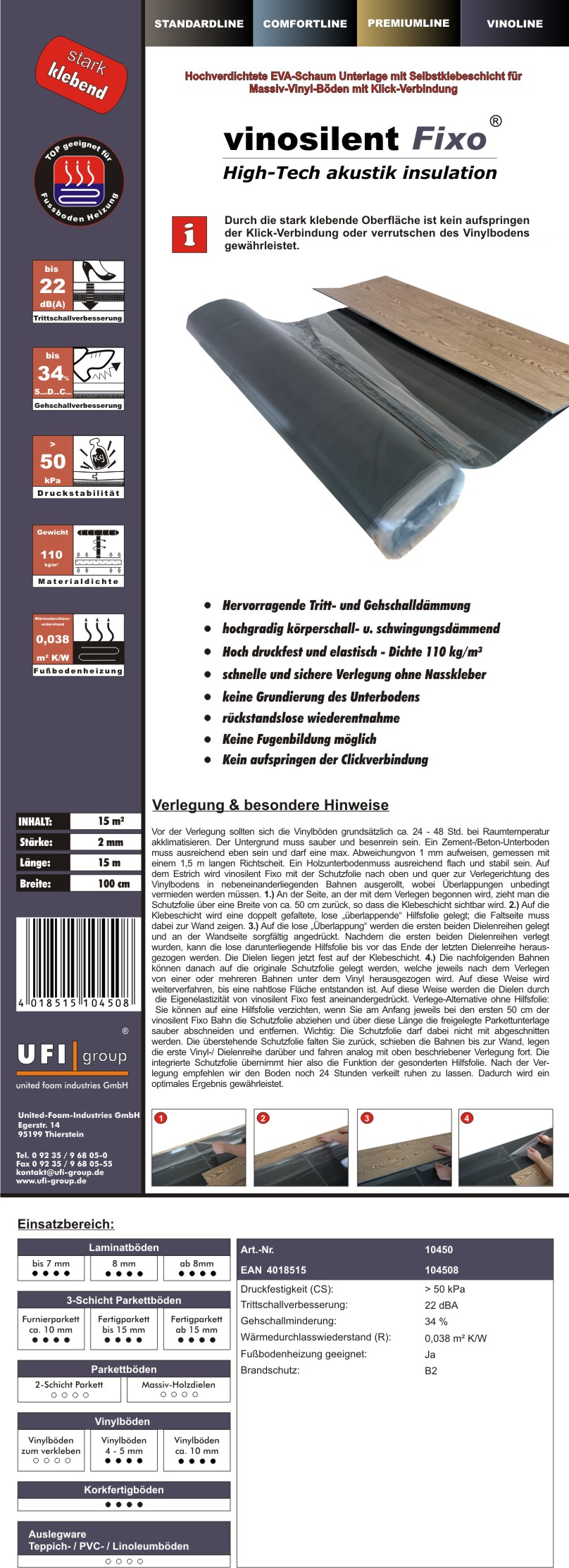 vinosilentfixo-2mm-Einleger